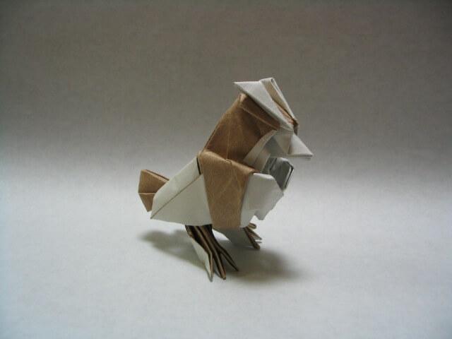 Origami Pidgey