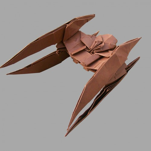 Origami Star Wars Vulture Droid