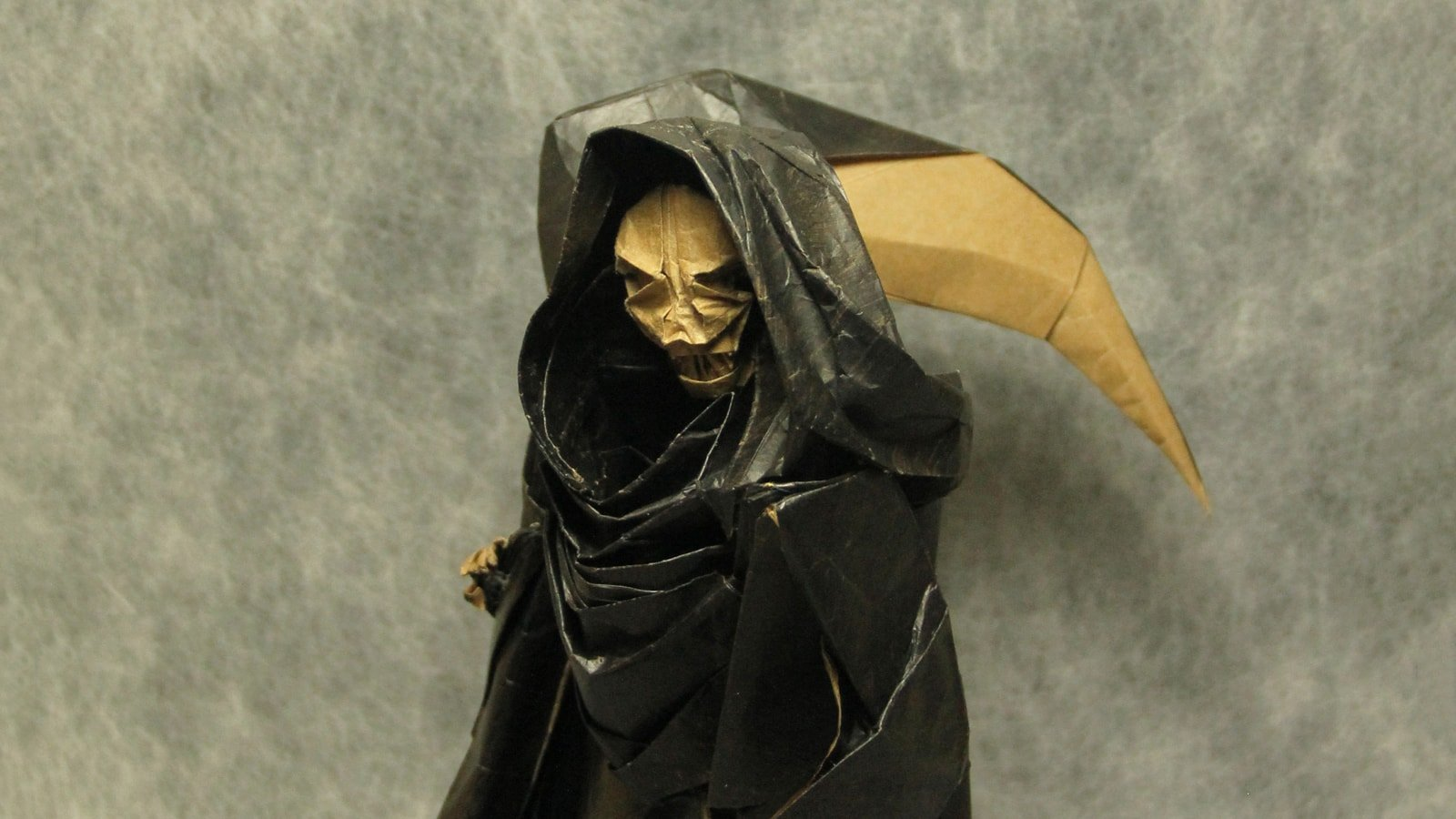 Star Wars Origami By Martin Hunt Diagrams And Crease Patterns Starwarigami Grim Reaper