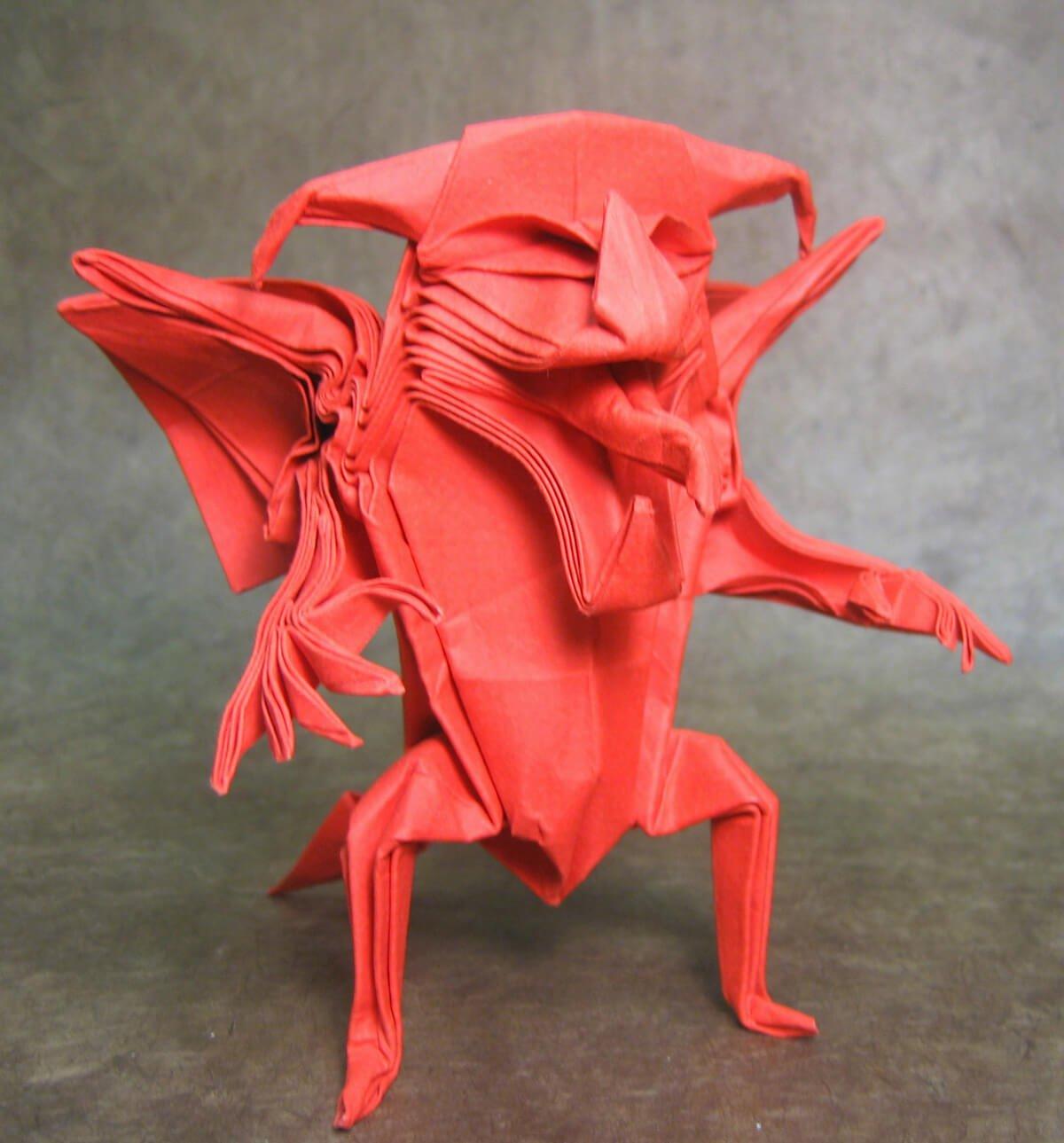 Origami Devil