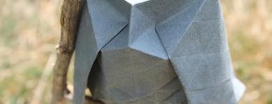 Origami Hex Owl