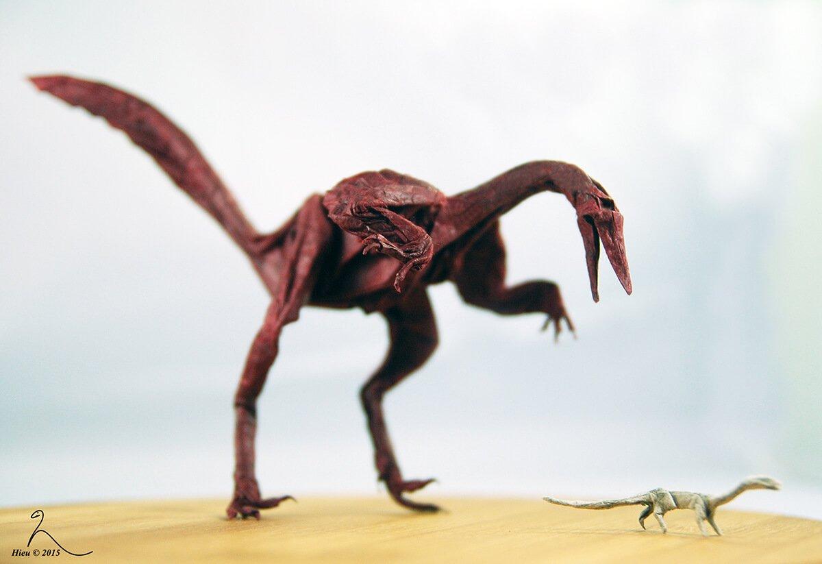 Origami Buitreraptor