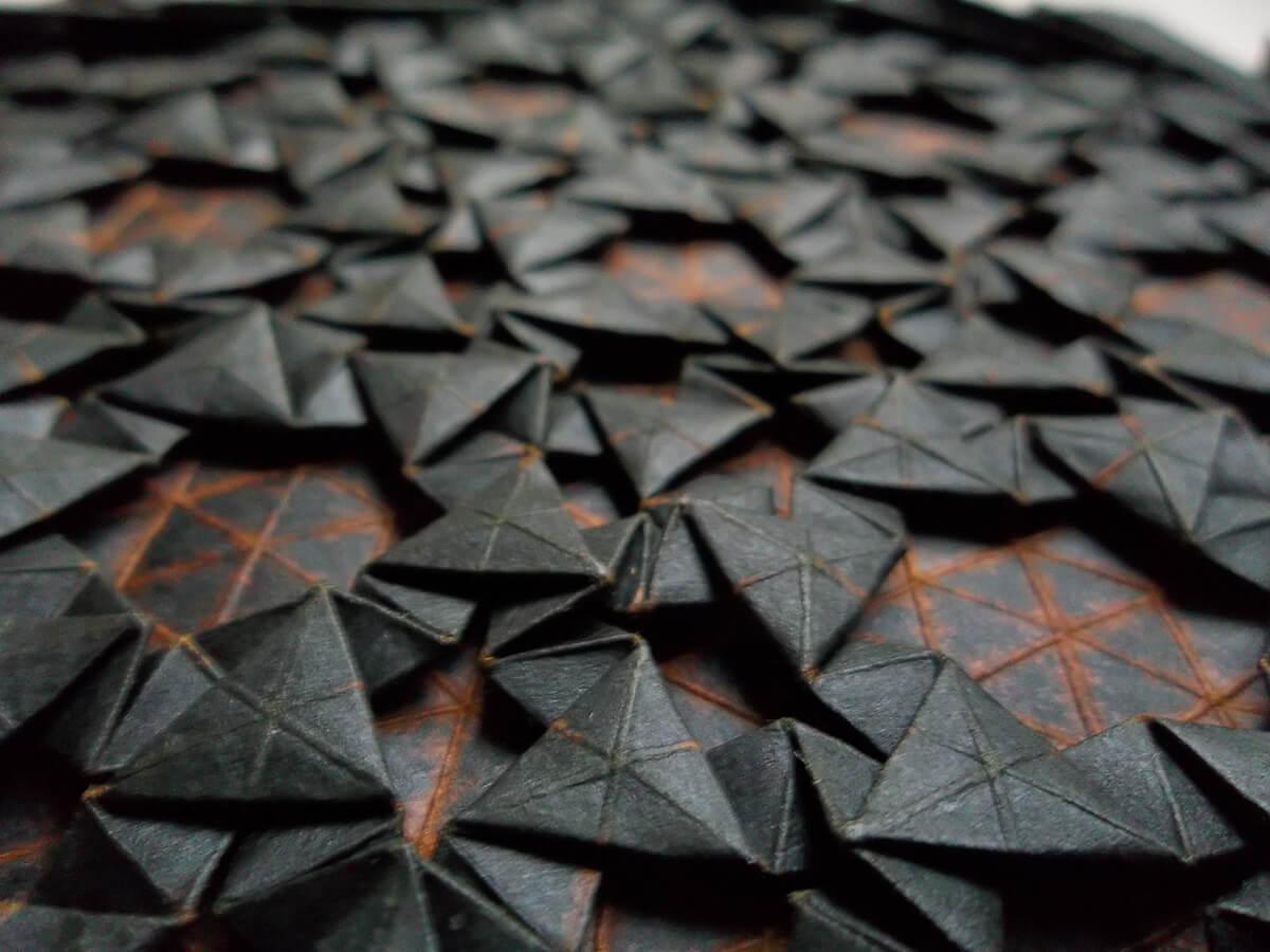 Heimkehrer Origami Tessellation by Peter Keller