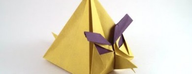 Origami Angry Bird