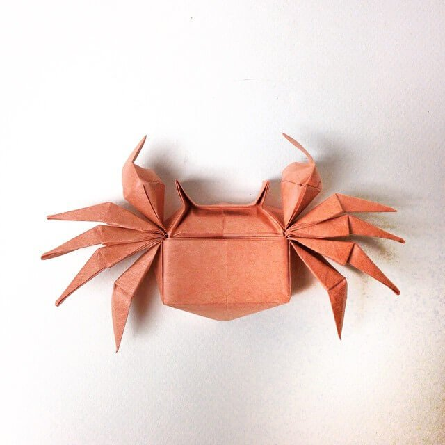 Origami Crab by Beth Johnson