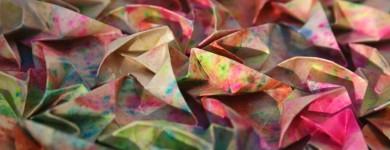 Origami Fireworks Tessellation by Joel Cooper