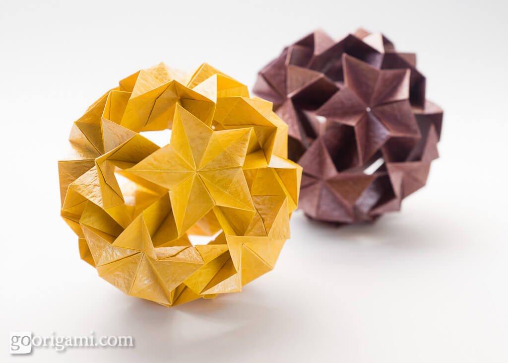 Origami Kusudamas