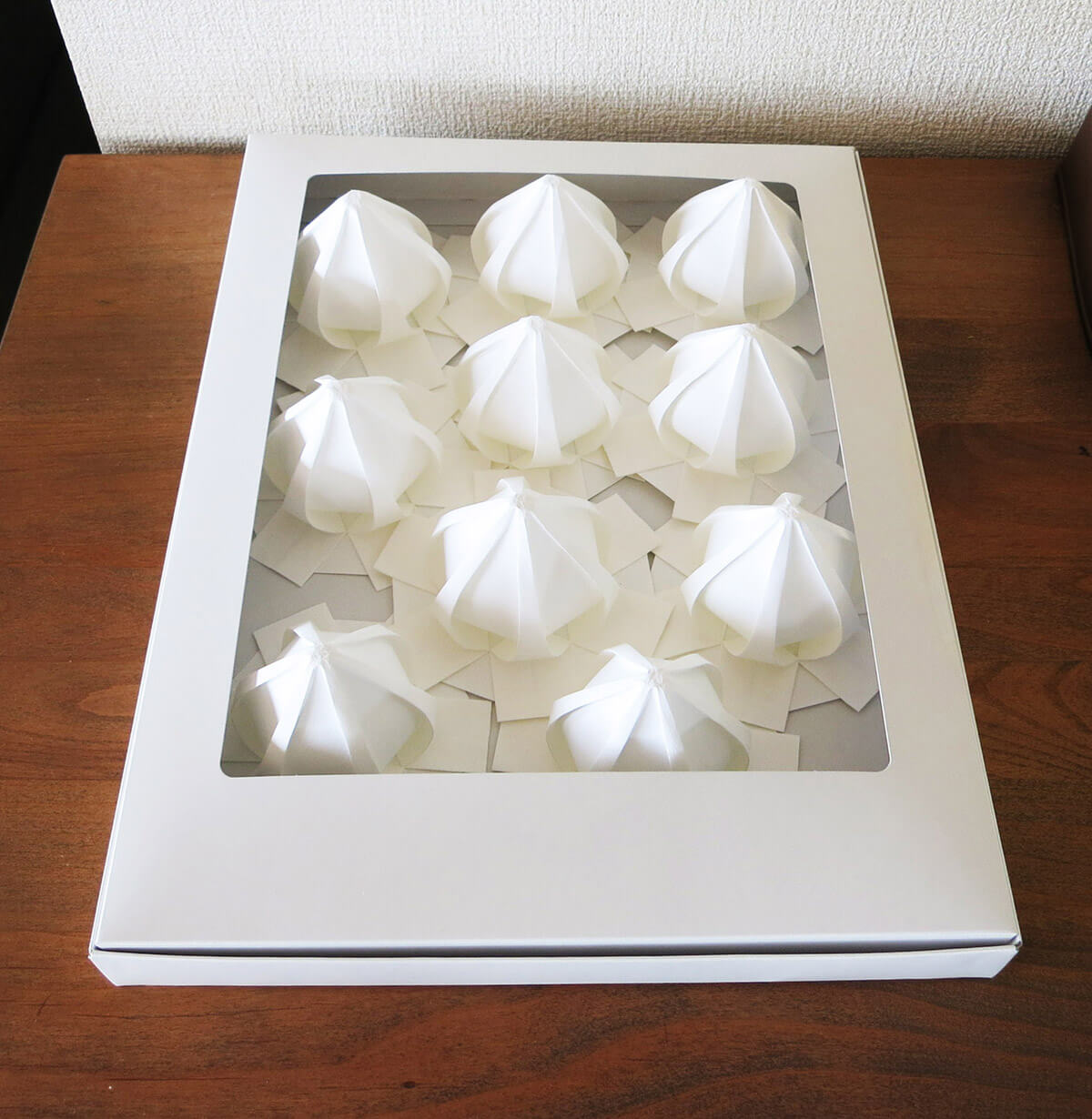 Origami Meringue Box