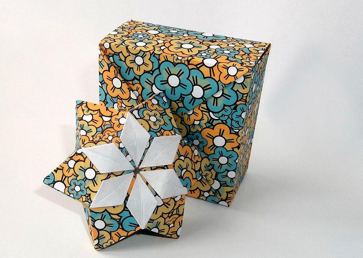 Origami Flower Paper by Peter Keller