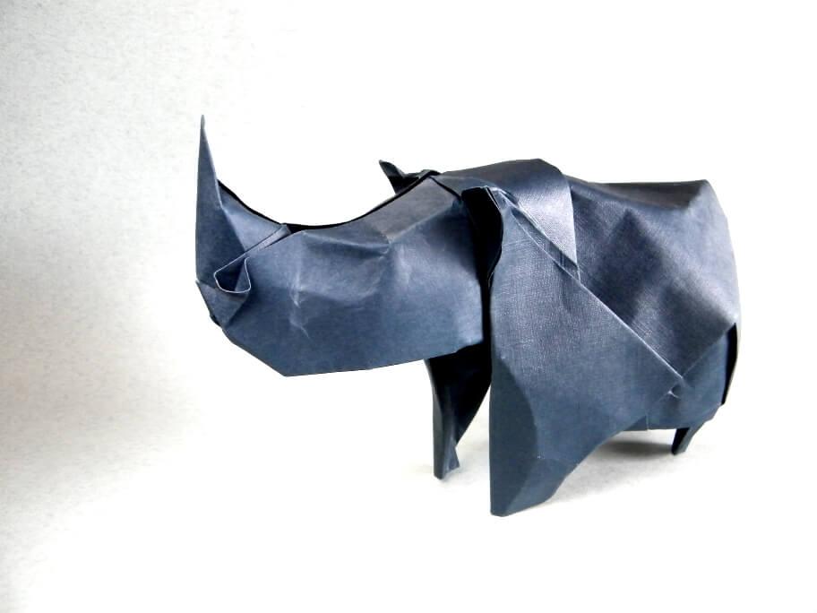 Origami Rhino by Rui Roda