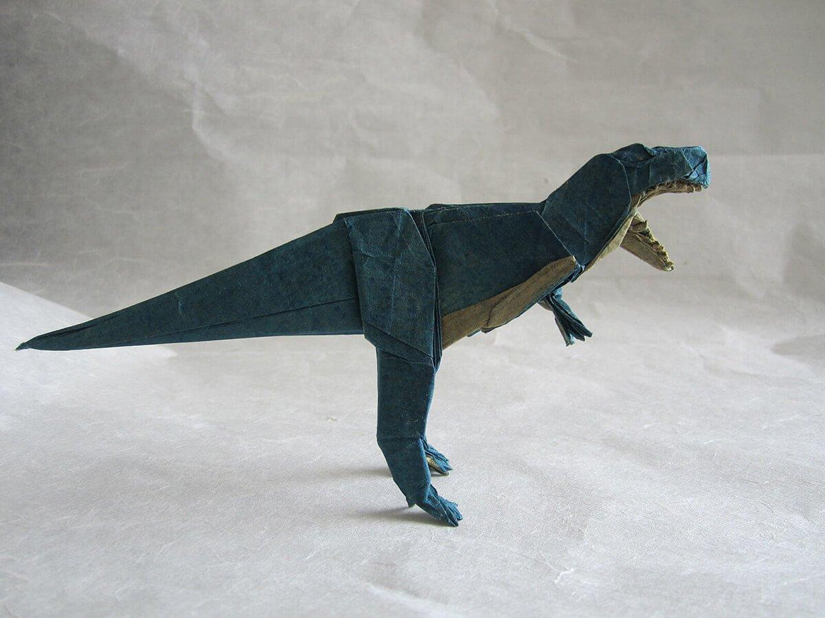 Origami T-Rex by Dai Lu