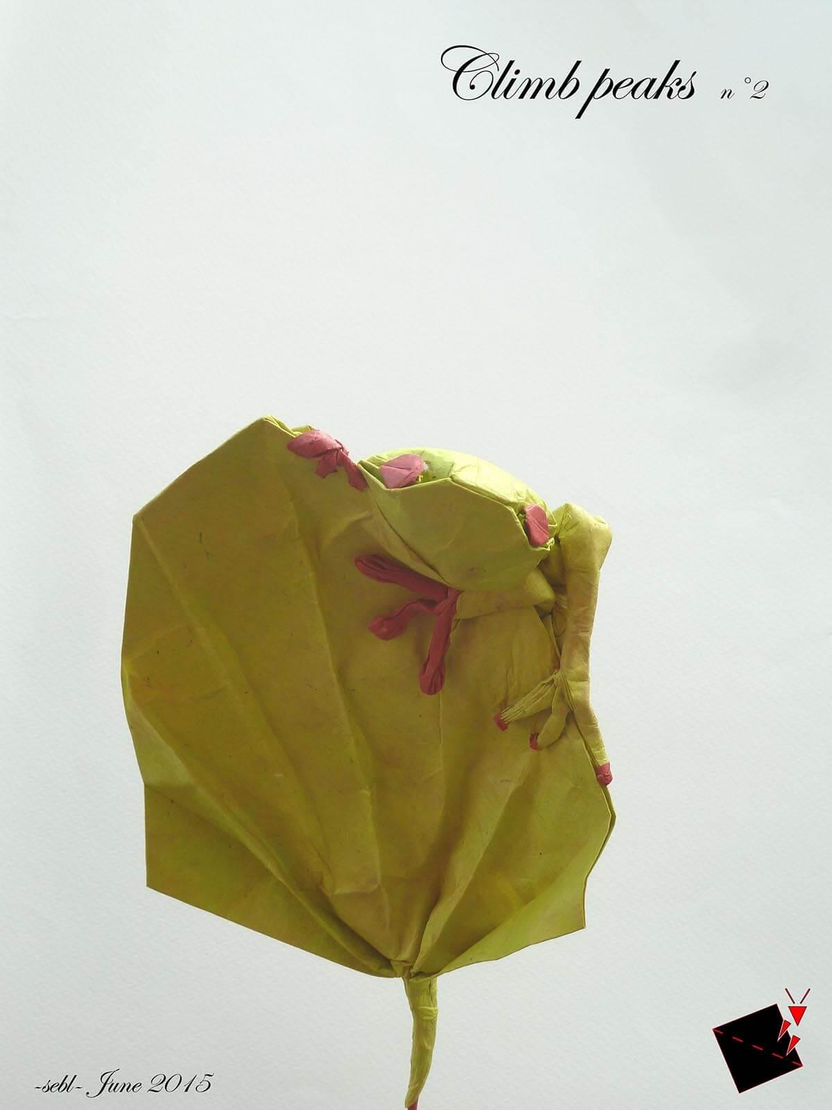Origami Tree Frog