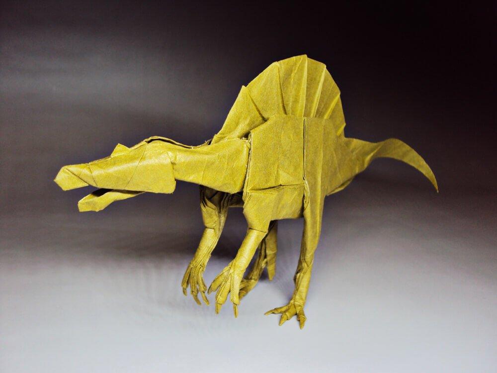 Origami Spinosaurus