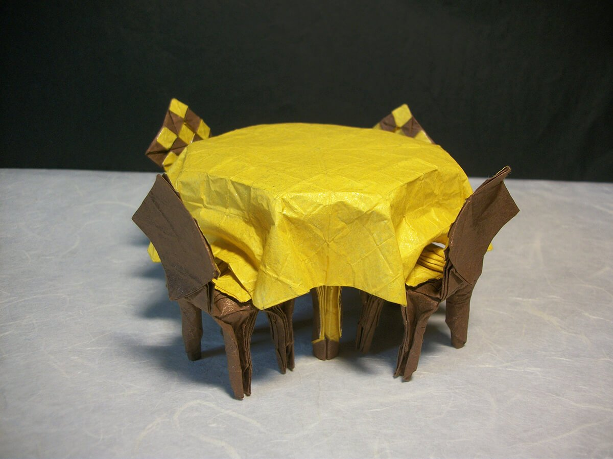 Origami Dining Table Set