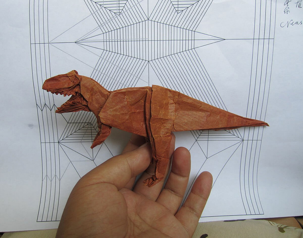 Origami Tyrannosaurus