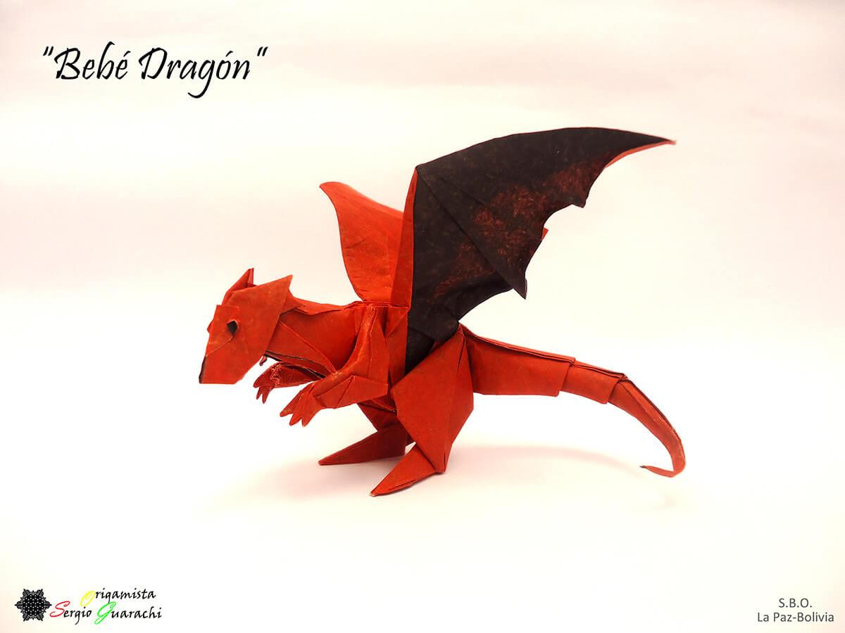 Origami Bebe Dragon