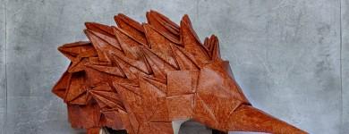 Origami Echidna