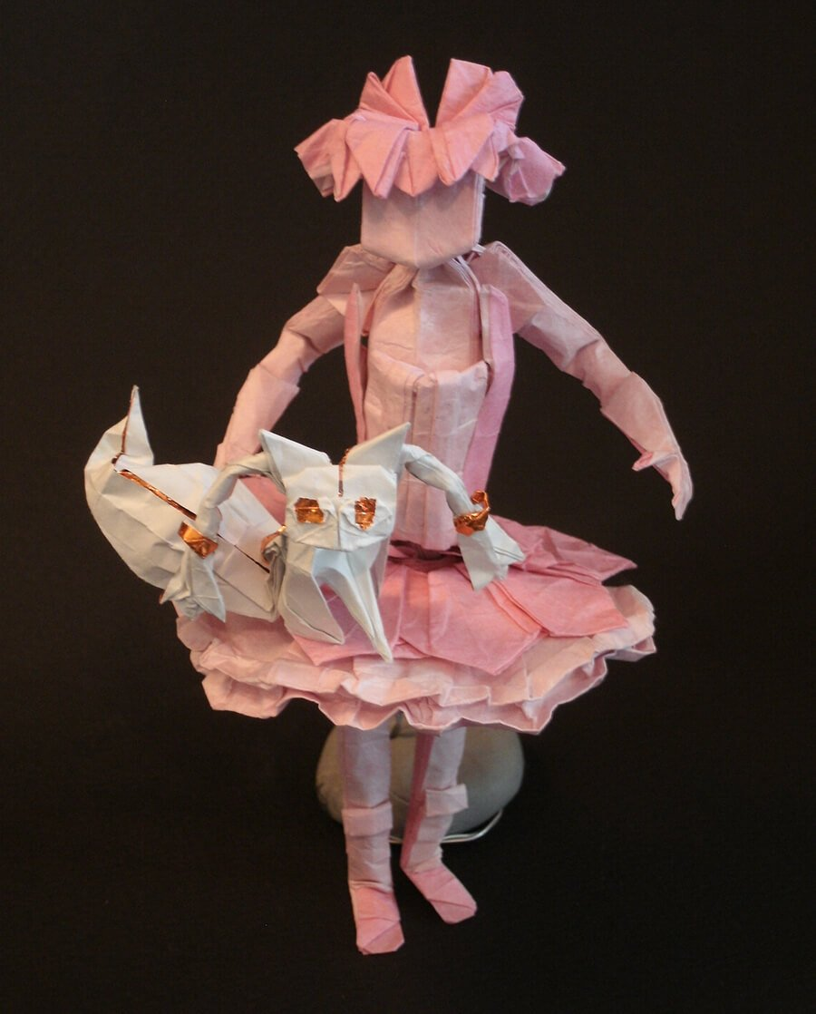 Origami Madoka and Kyubey