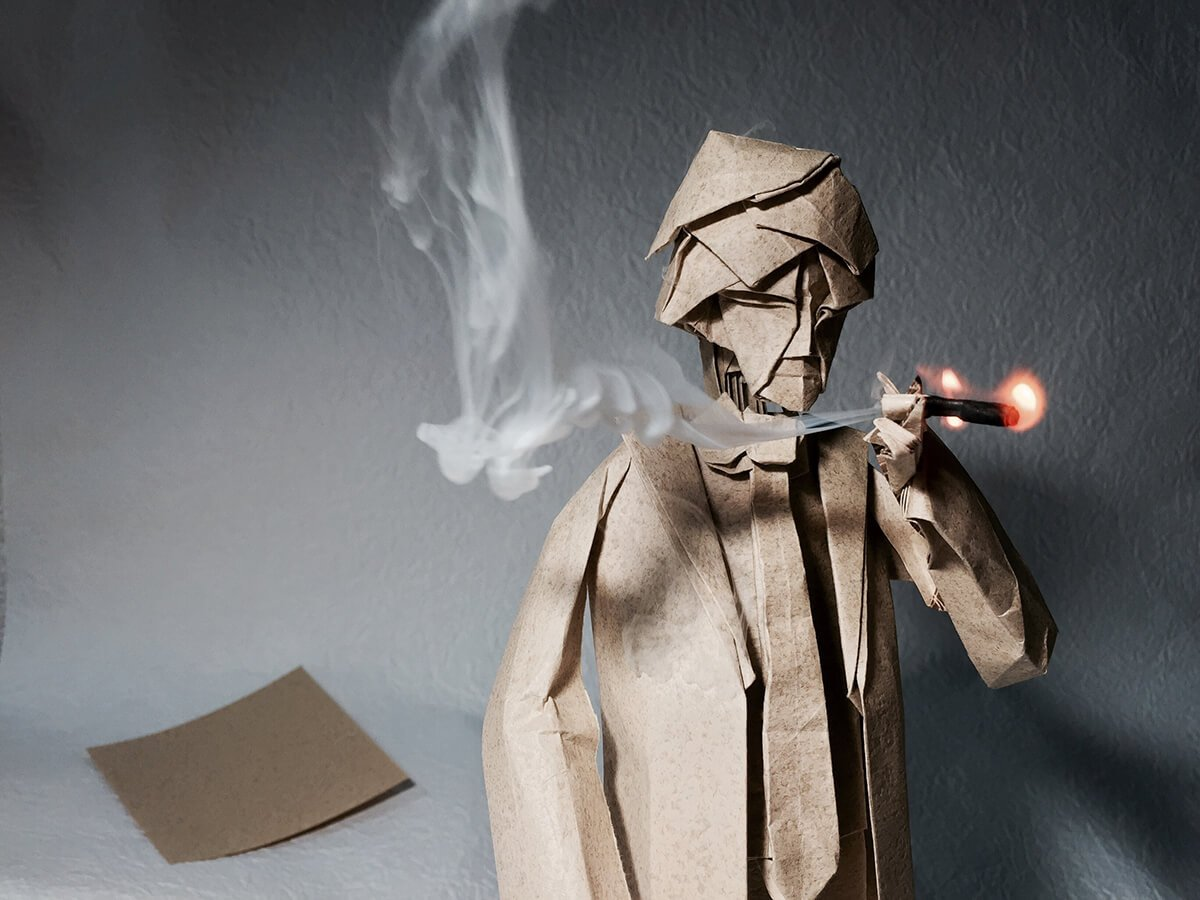 Origami Smoker