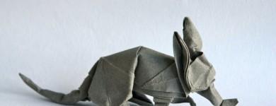 Origami Aardvark