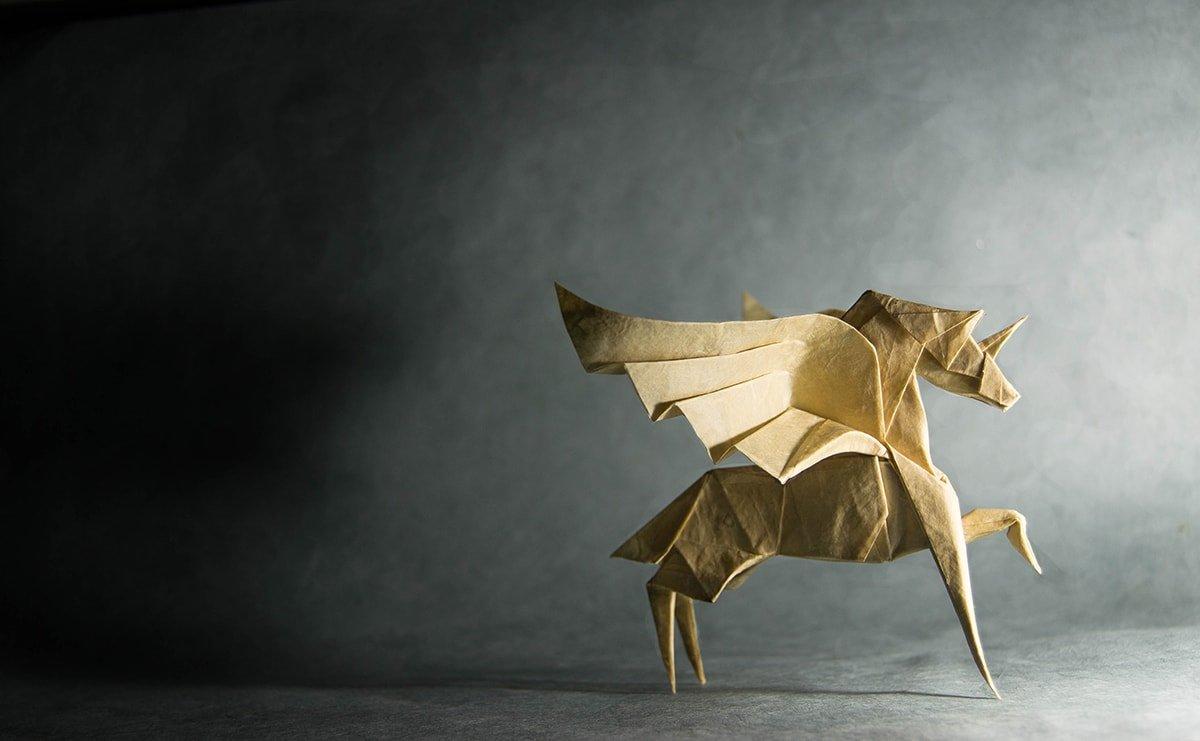 Origami Alicorn
