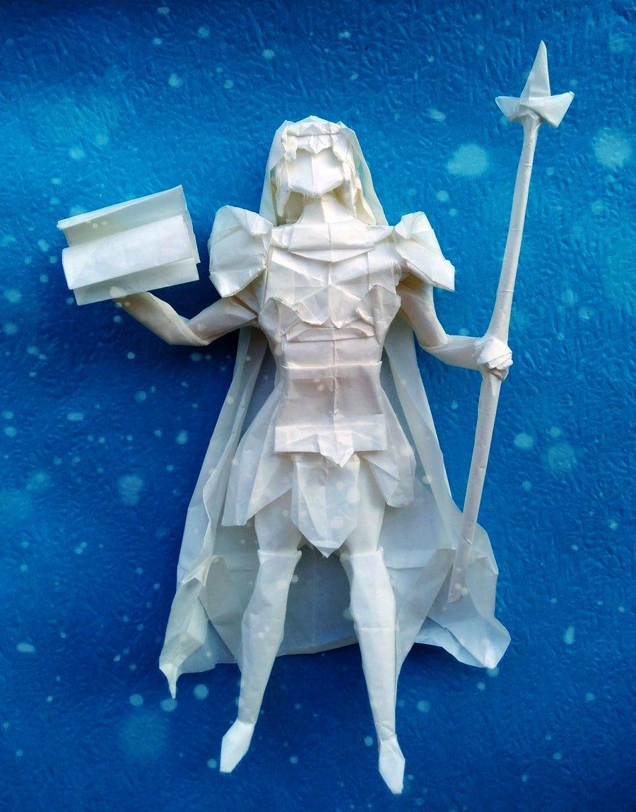 Origami Crystal Maiden