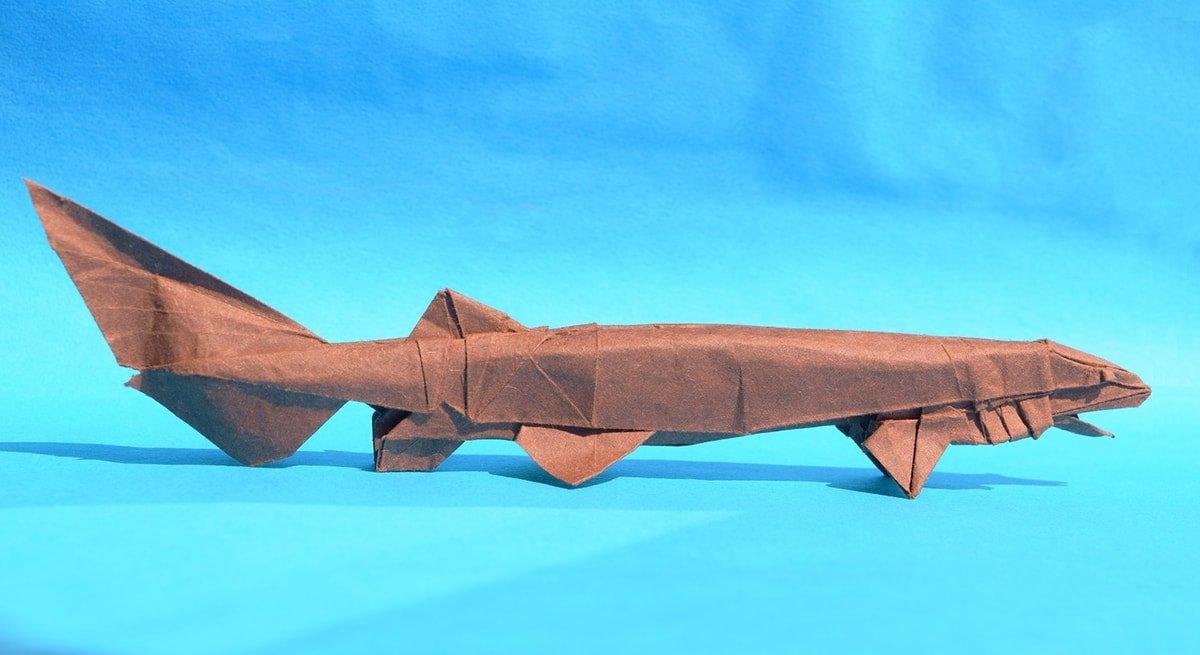 Origami Frilled Shark