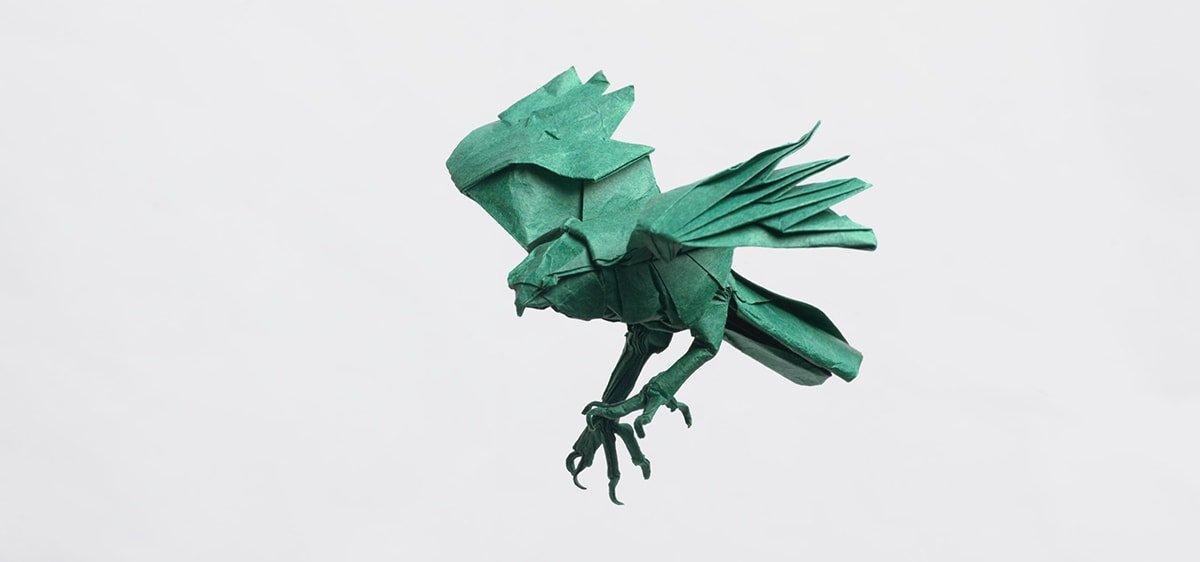 Origami Hawk