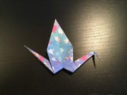 Origami Crane Step 12