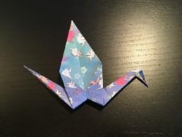 Origami Crane Step 13