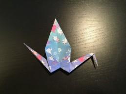 Origami Crane Step 14