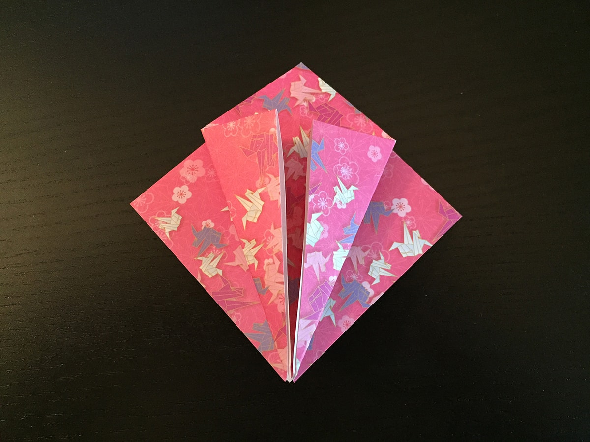 Petal Fold Step 3