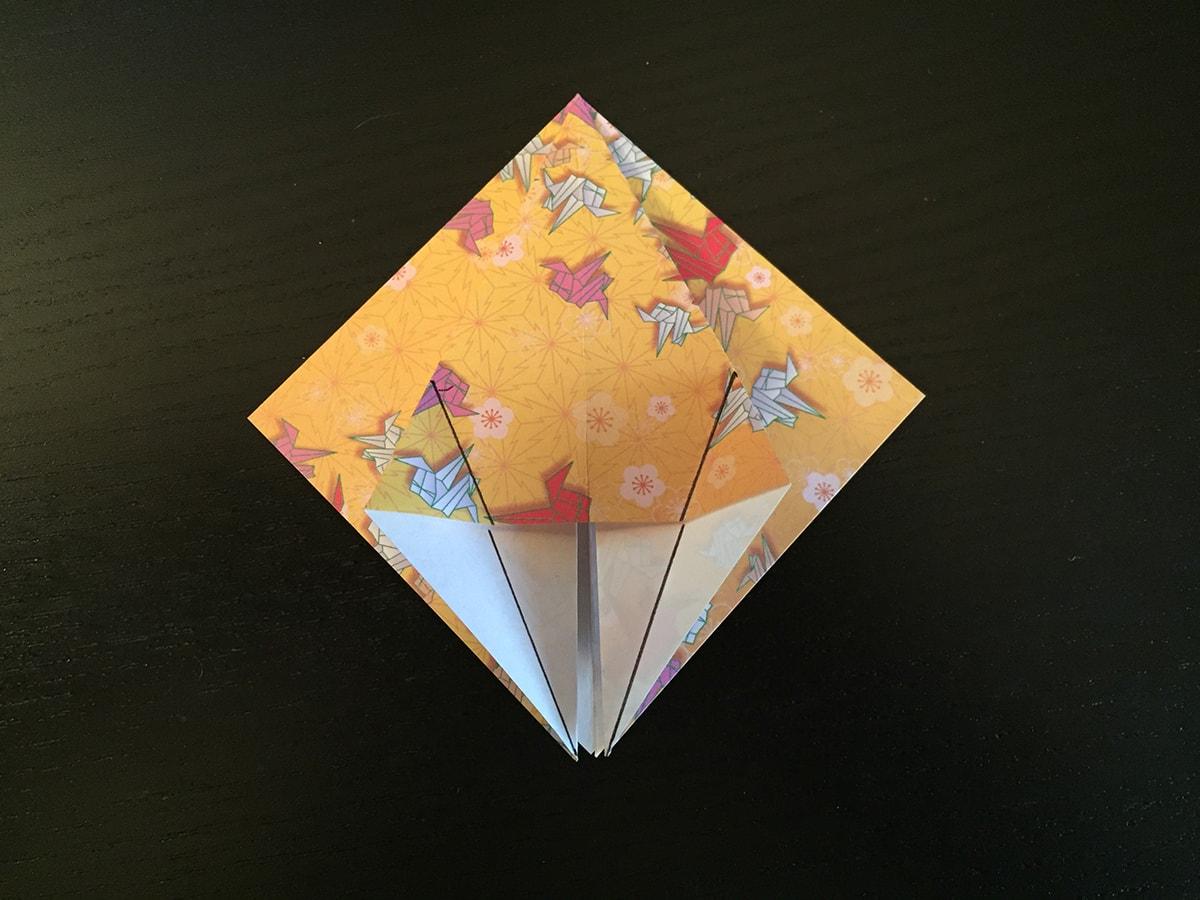 Petal Fold Variation Step 2