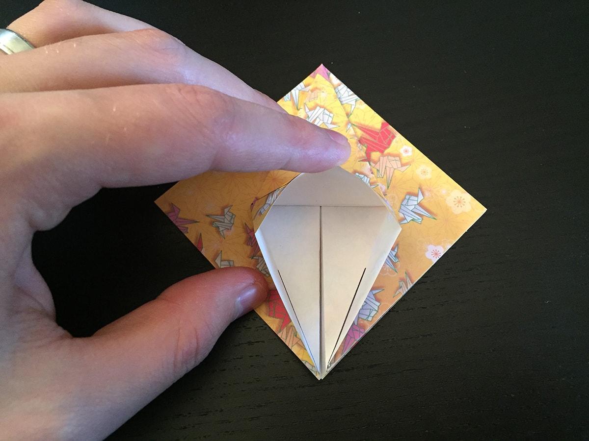 Petal Fold Variation Step 5