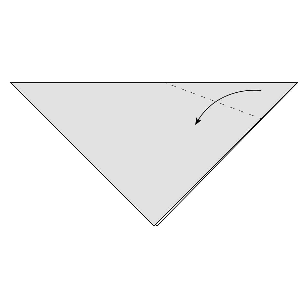 Inside Reverse Fold Step 2