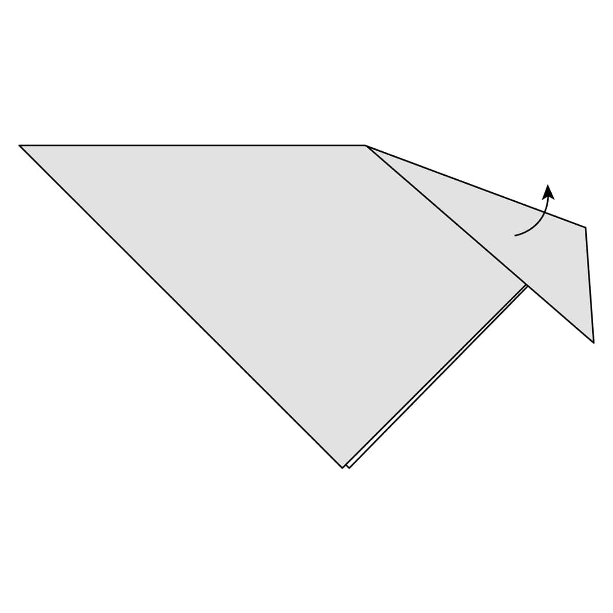 Inside Reverse Fold Step 3