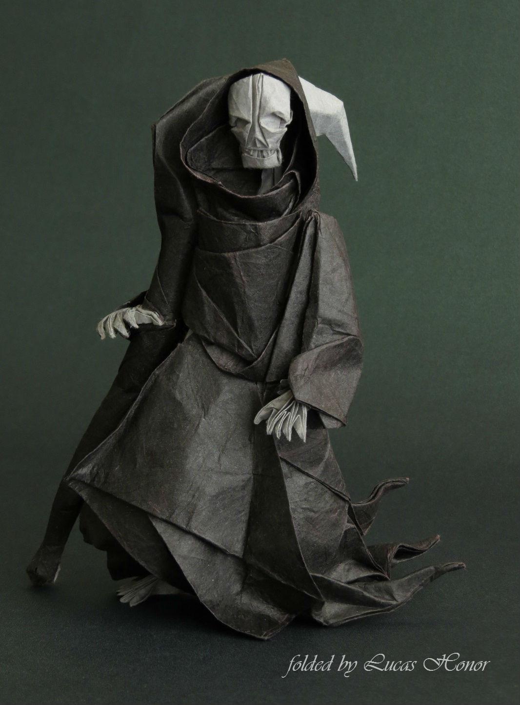 Origami Grim Reaper by Lucas Honor