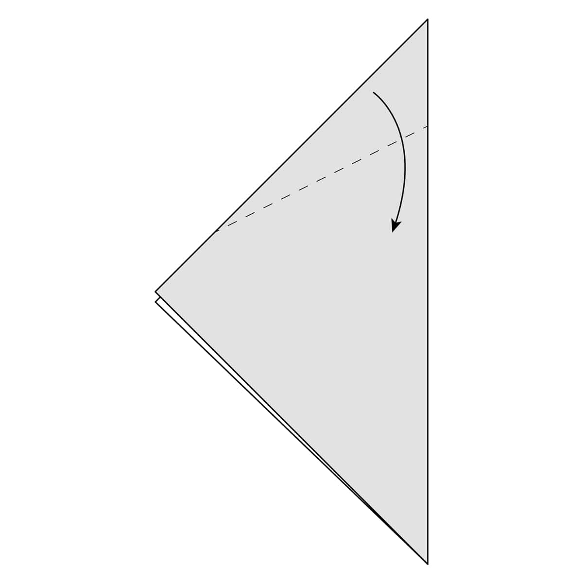 Outside Reverse Fold Step 2