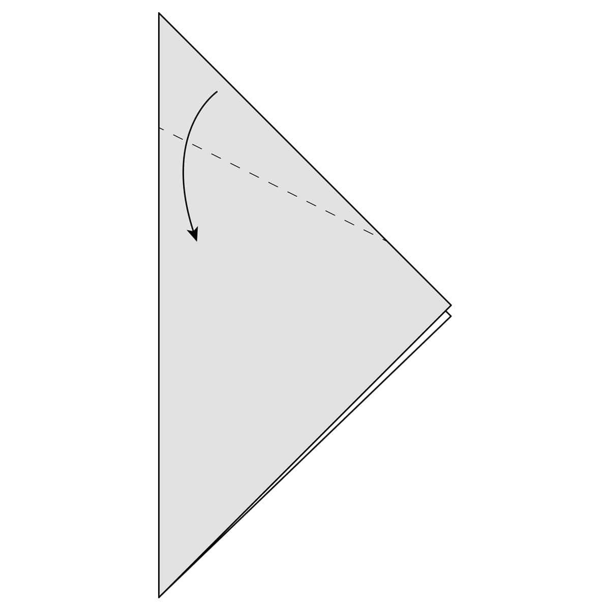 Outside Reverse Fold Step 5