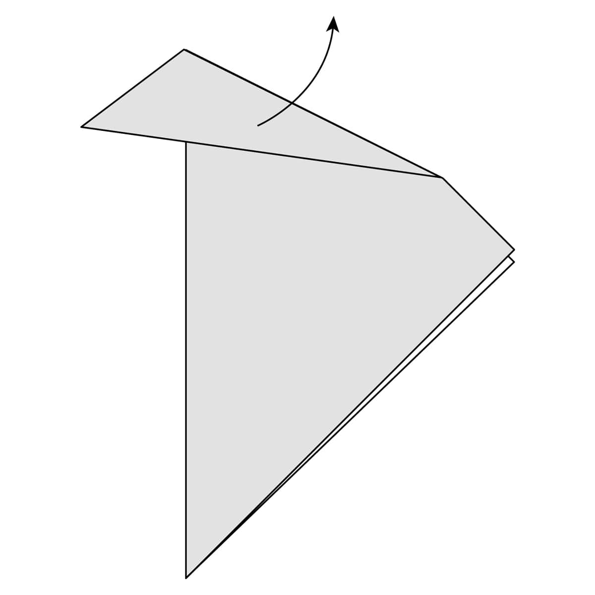 Outside Reverse Fold Step 6
