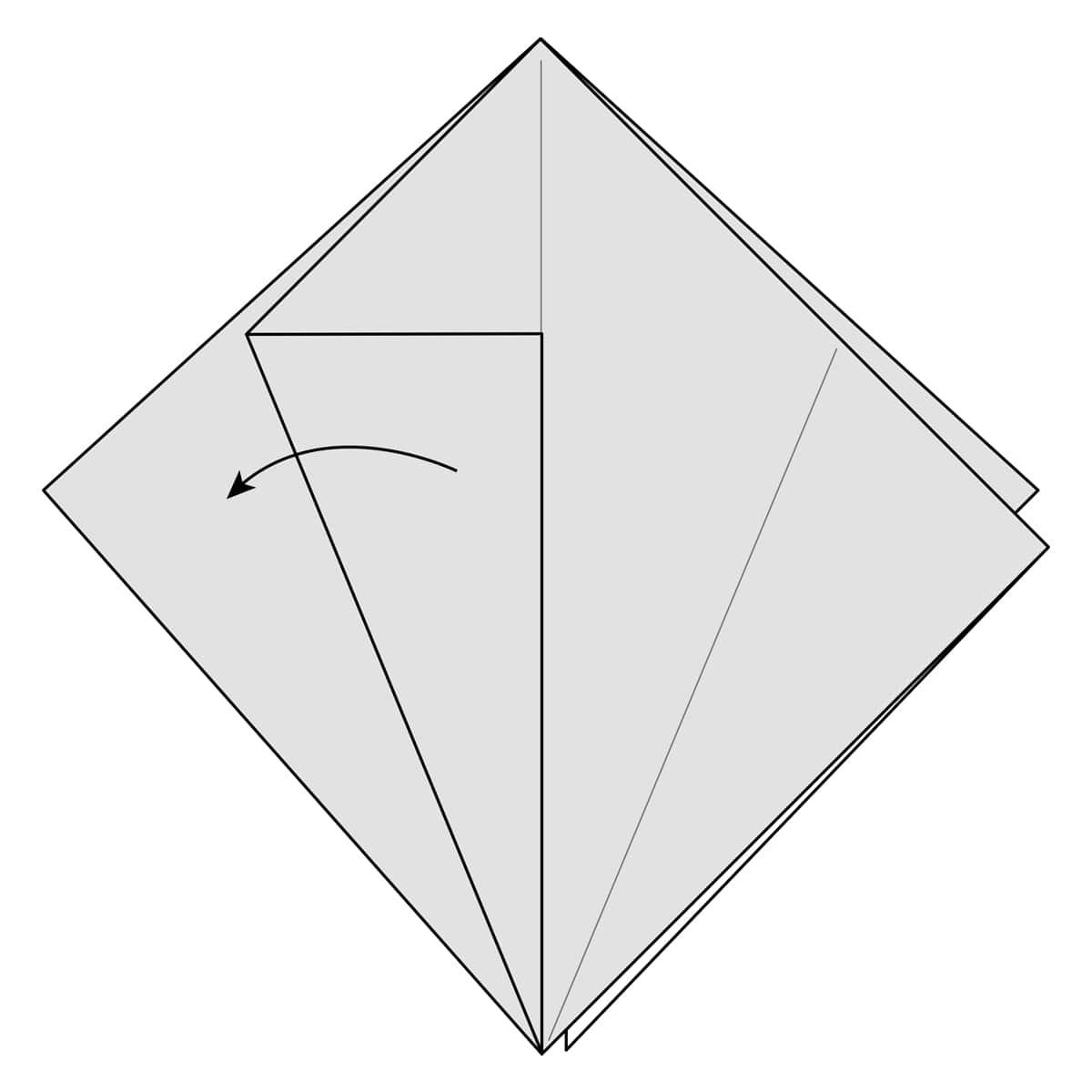 Petal Fold Step 4