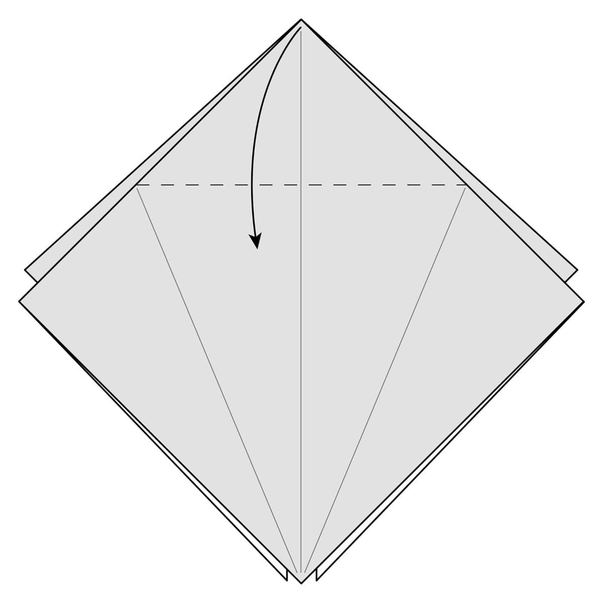 Petal Fold Step 5