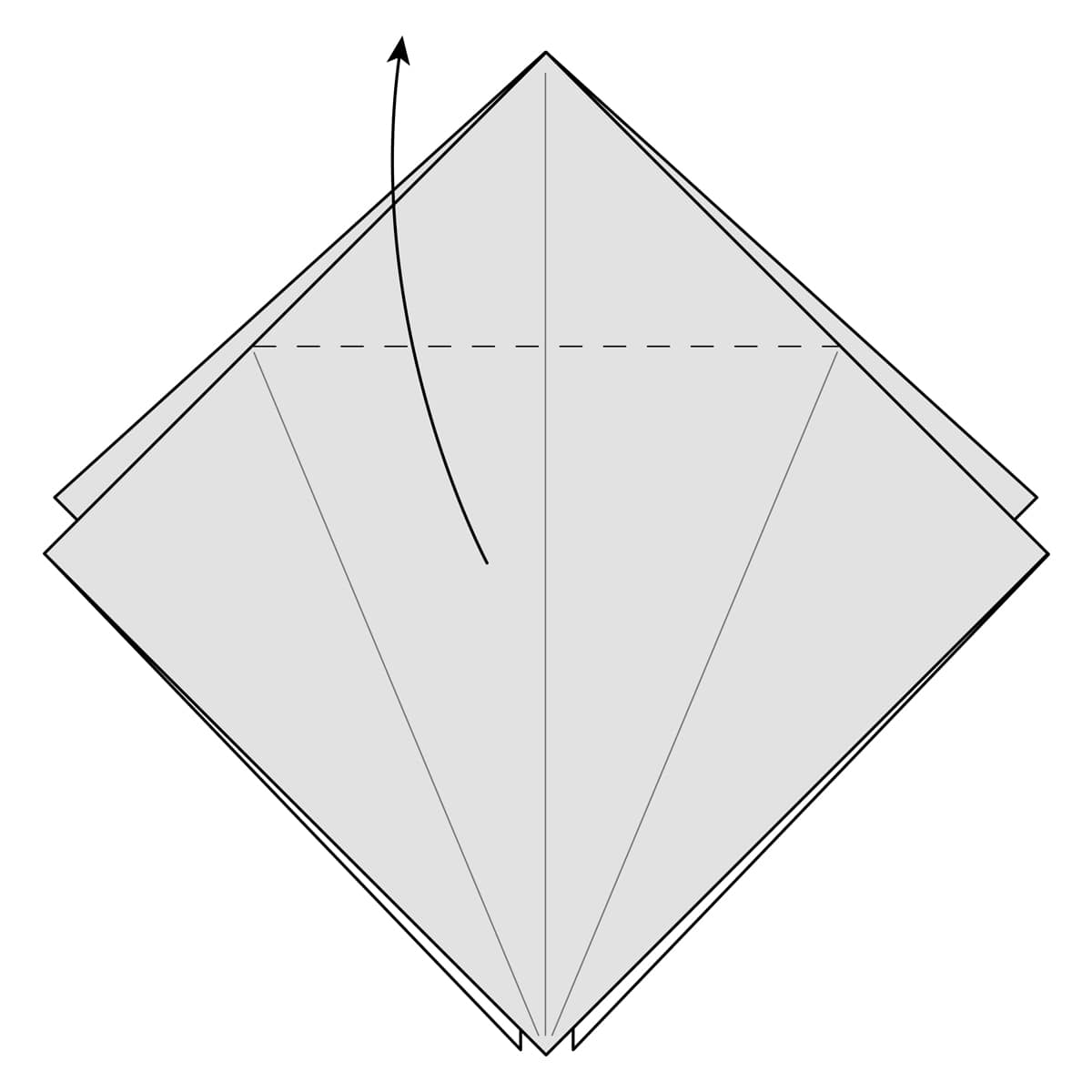 Petal Fold Step 7