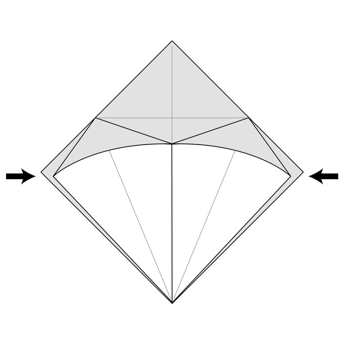 Petal Fold Step 8