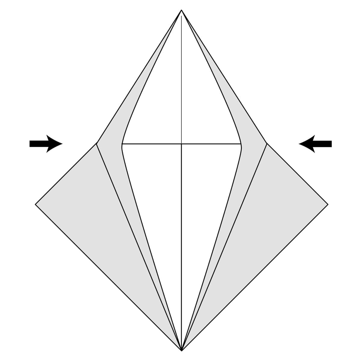 Petal Fold Step 9
