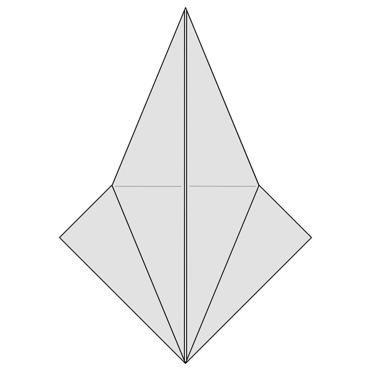 Petal Fold Step 10
