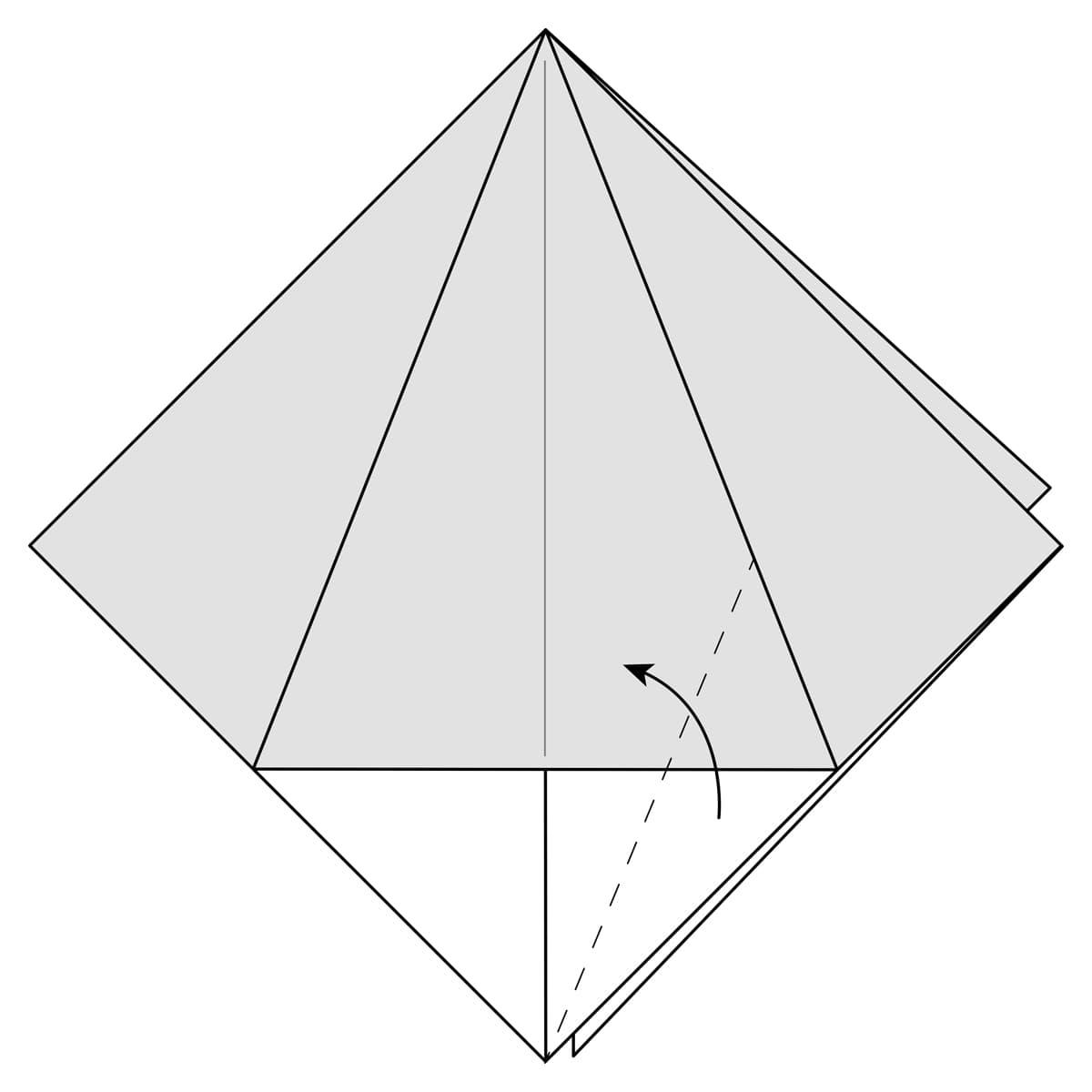 Petal Fold Variation Step 1