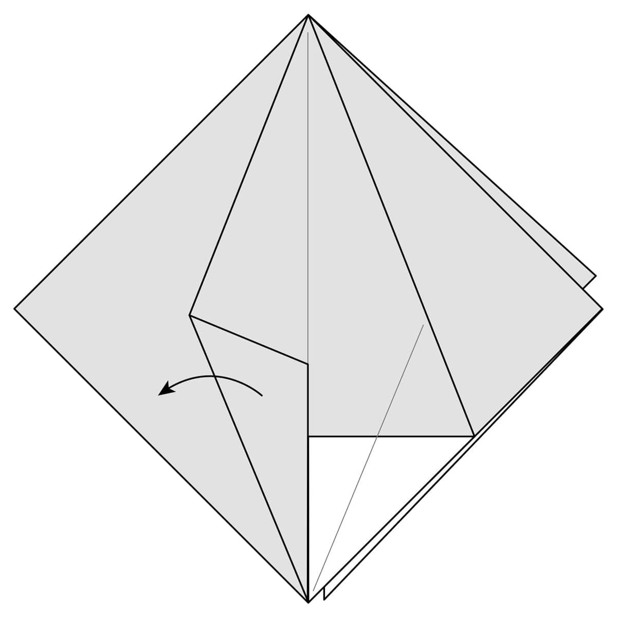 Petal Fold Variation Step 4