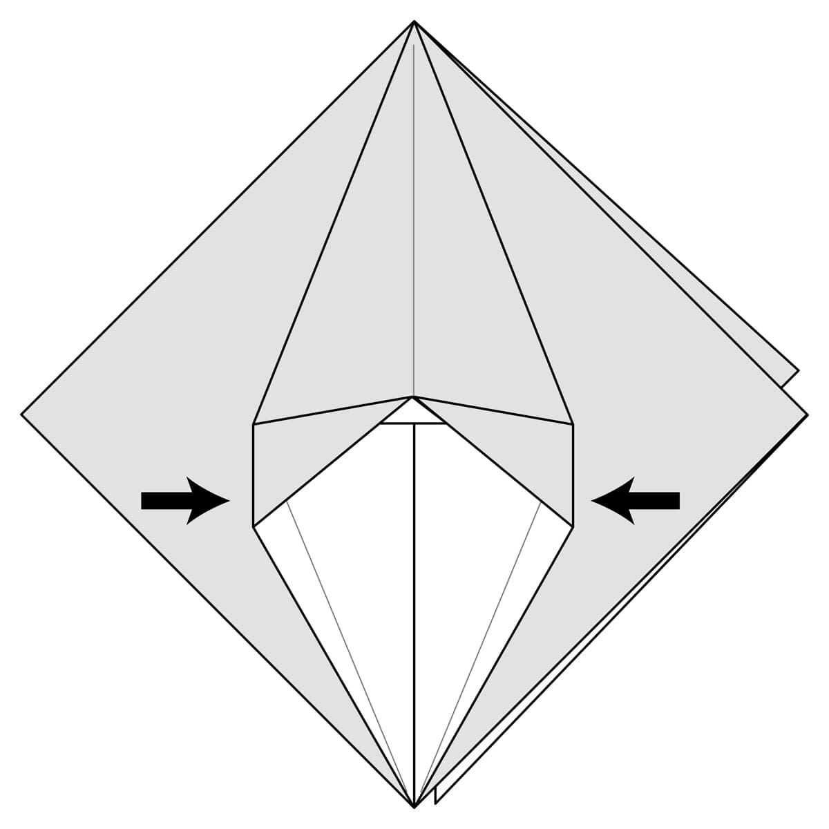 Petal Fold Variation Step 6