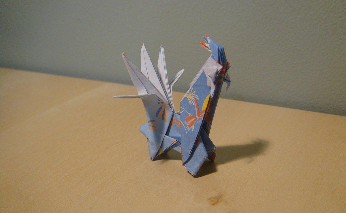 Origami Dialga
